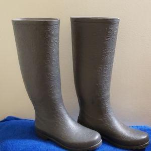Ugg Australia rain boots tall size 6